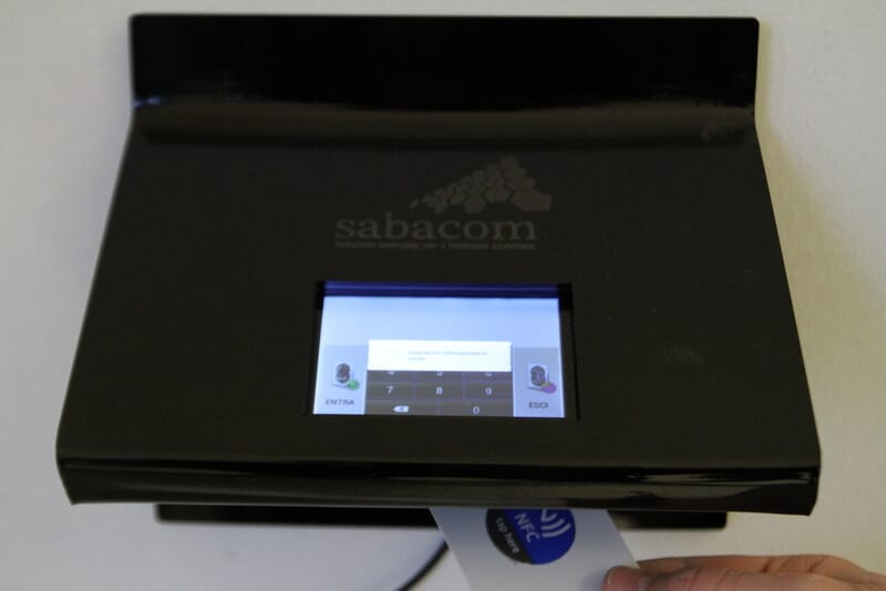 sabacom - nfc attendance tracking in SMEs and large companies