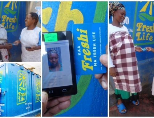 Sanergy uses FAMOCO for data tracking in sanitation in Kenya