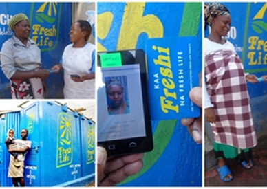 Sanergy - nfc data tracking