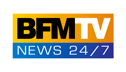 Logo BFM TV News.