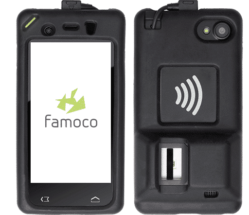 famoco fx200 fingerprint device
