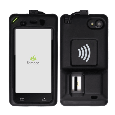 Biometric FX200 devices with front and back view