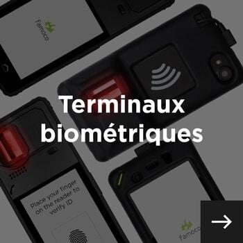 terminaux biométriques