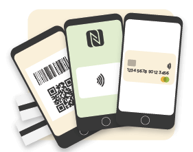 payments methods for public transport including magnetic ticket, barcode ticket, nfc travel card and open payment