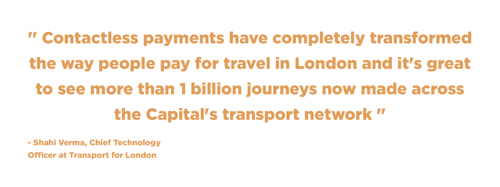 Shashi Verma about open payment in London