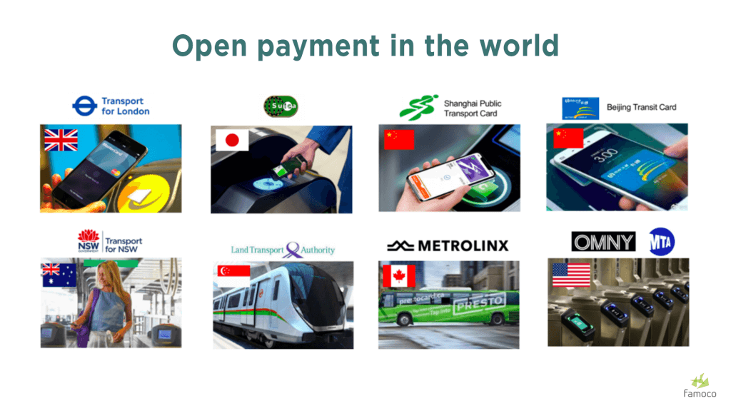 Open payment in the world