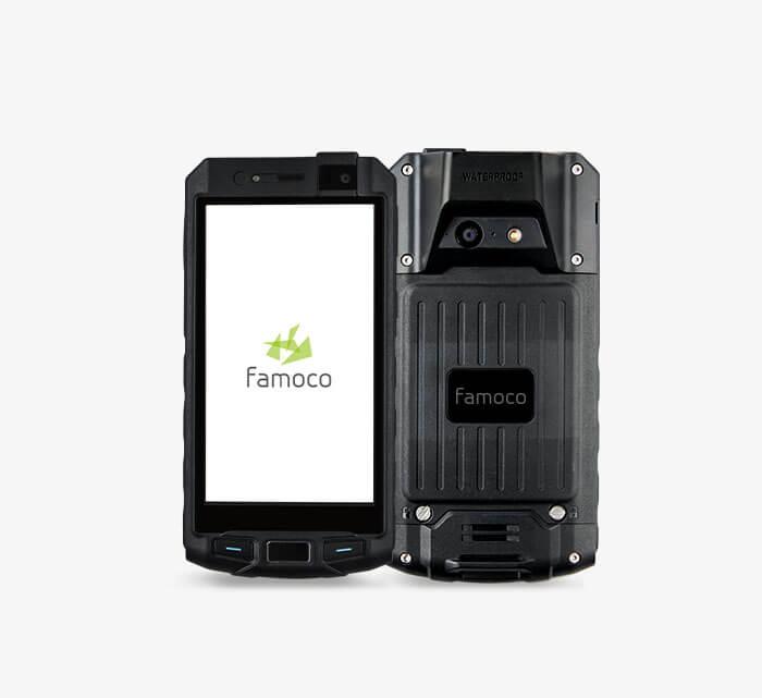 terminaux mobile robuste famoco