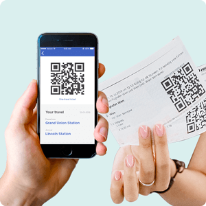 Payment methods barcode tickets