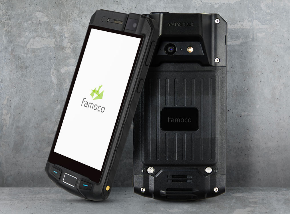 PX320 - rugged Famoco phone
