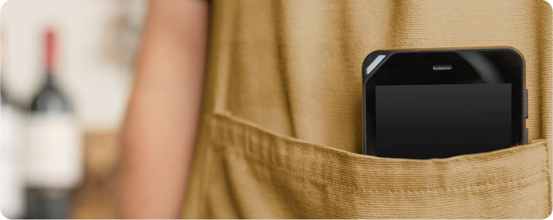 FX105, le terminal mobile de poche de Famoco